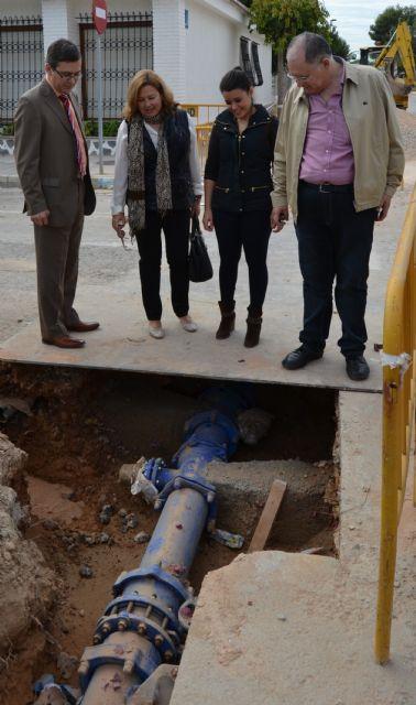 Comienzan las obras de renovación de la red de agua potable de San Pedro del Pinatar - 3, Foto 3