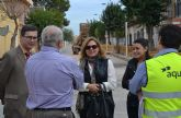 Comienzan las obras de renovación de la red de agua potable de San Pedro del Pinatar