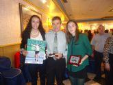 Los atletas archeneros, premiados también en la II Gala Anual del Atletismo Murciano