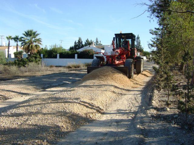El ayuntamiento mejora los caminos rurales del 'Barranco de Secas' en Pastrana y 'Rusticana' en Garrobo, Foto 3