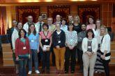 El Alcalde de Molina de Segura recibe a los participantes en el Encuentro europeo Comenius que coordina el Colegio El Taller