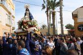 Miles de personas acompañan a la Pur�sima en una c�lida mañana del Milagro