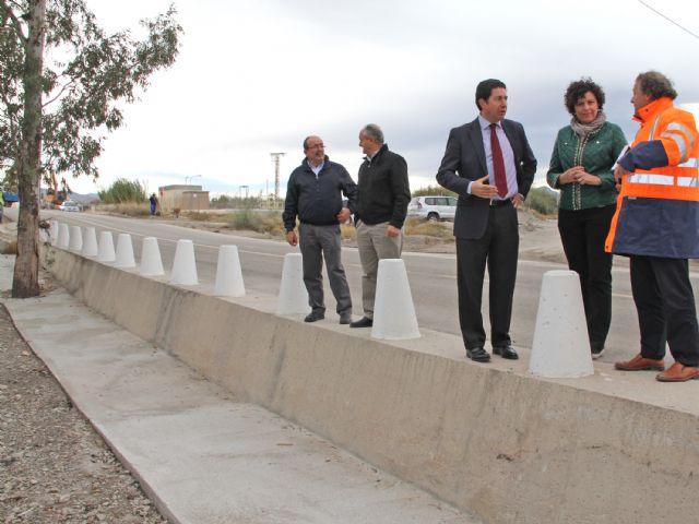La reparación de la carretera que conecta Puerto Lumbreras con Lorca concluirá antes de final de año - 1, Foto 1