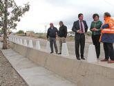 La reparación de la carretera que conecta Puerto Lumbreras con Lorca concluirá antes de final de año