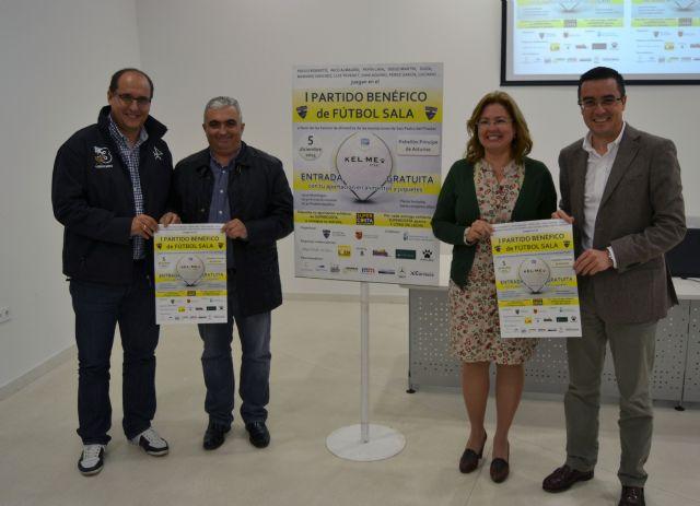 Un partido de fútbol sala solidario congregará a destacados deportistas y artistas de la Región - 2, Foto 2