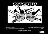 'Big Band Theory' ofrecerá un concierto este viernes en el Casino de Totana