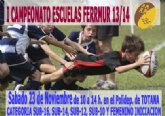 Este sábado comienza el Campeonato de Escuelas de Rugby FERRMUR 2013/14