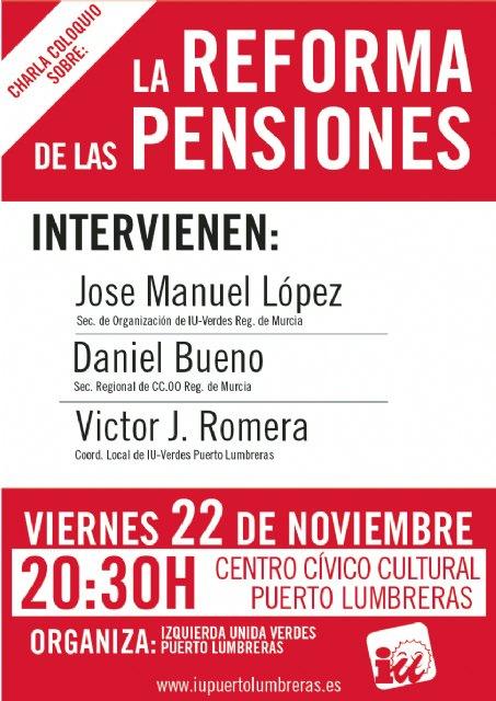 IU-Verdes organiza un acto en defensa de las Pensiones - 2, Foto 2