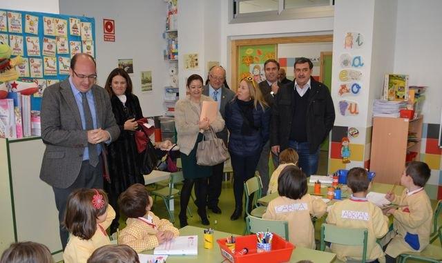Educación dota de un nuevo aulario al CEIP Santo Cristo del Consuelo y de un pabellón deportivo al CEIP Gerónimo Belda de Cieza - 1, Foto 1
