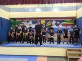Buena exhibición de artes marciales en Roche