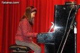 Alumnos de la Escuela Municipal de Totana ofrecieron un concierto en el Centro Sociocultural 'La Cárcel'