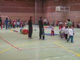 Clausura de las XV Olimpiadas Infantiles en el Pabellón de Santa Lucía