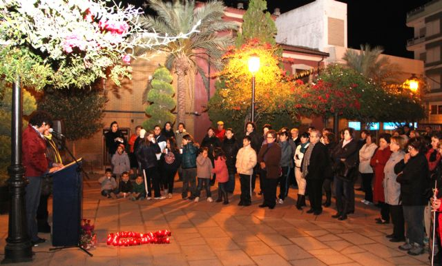 Puerto Lumbreras conmemora el Día Internacional contra la violencia de género con una Marcha Solidaria - 1, Foto 1