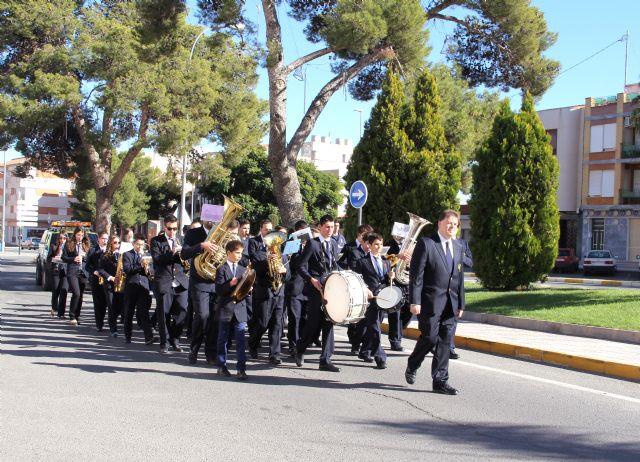 La Banda Municipal de Música de Puerto Lumbreras celebra la Festividad de Santa Cecilia 2013 con un pasacalles - 1, Foto 1