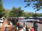 El Santuario de Santa Eulalia volvió a acoger este pasado domingo el mercadillo artesano