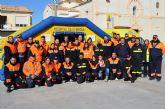 Voluntarios de Protección Civil enseñan a los vecinos como practicar primeros auxilios