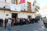 Funcionarios y concejales del Ayuntamiento de Archena también se adhieren al Día Internacional para la eliminación de la Violencia contra la Mujer