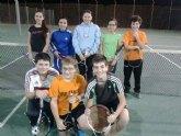 El Club Tenis Totana sigue liderando la Liga Regional Interescuelas de Tenis