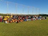 Éxito total en el Primer Campeonato de Escuelas de Rugby FERRMUR celebrado en Totana