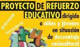 Permanece abierto el plazo de inscripción para los universitarios que quieran participar en el Proyecto de Refuerzo Educativo