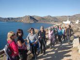 La concejalía de Deportes organizó una ruta de senderismo por La Unión y Portmán