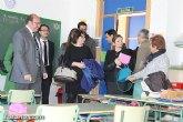 El consejero de Educación y la alcaldesa inauguran el nuevo aulario del CEIP 'Comarcal-Deitania'