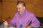 El portavoz socialista, Andrés García Cánovas, afirma que 'el PP de Totana tiene miedo al debate en los plenos'