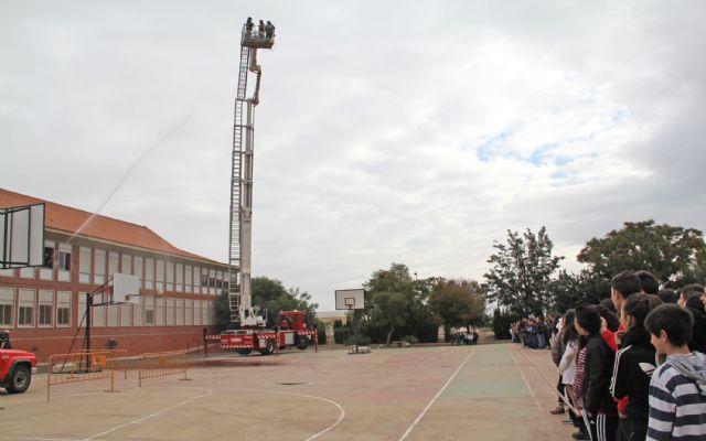 Simulan un incendio en el IES Rambla de Nogalte - 3, Foto 3