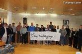 La corporación municipal se solidariza con la jugadora del CB Totana, María López Pérez