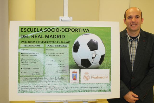 Deportes amplía hasta enero la inscripción para la escuela socio-deportiva de la ´Fundación Real Madrid´, Foto 2