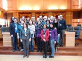 El Ayuntamiento de Molina de Segura recibe la visita de los participantes en el Encuentro europeo Comenius que coordina el Colegio Salzillo