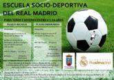 Deportes amplía hasta enero la inscripción para la escuela socio-deportiva de la ´Fundación Real Madrid´