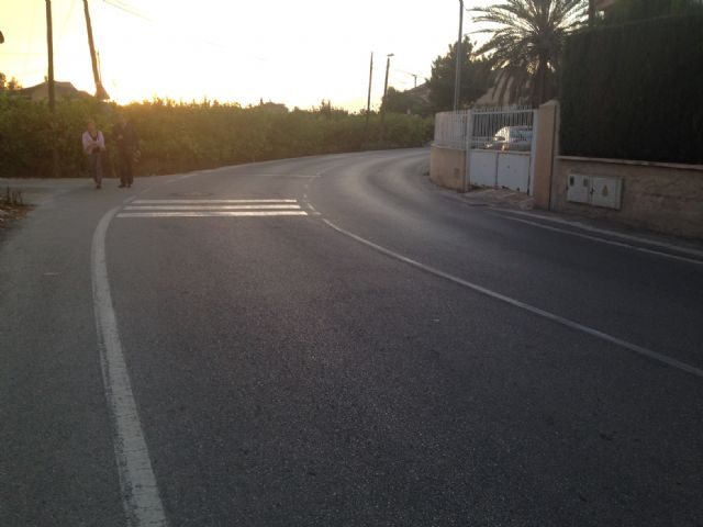 Los socialistas reclaman que se construyan aceras entre Aljucer y San Ginés - 3, Foto 3