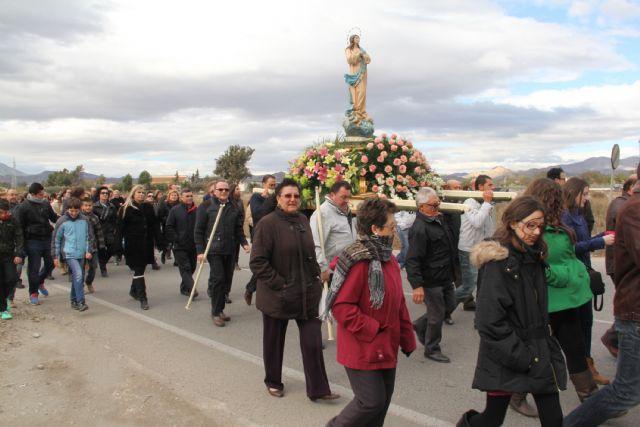 La Purísima recorre La Estación-Esparragal acompañada por la Cuadrilla y cientos de vecinos - 1, Foto 1