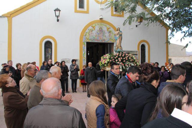 La Purísima recorre La Estación-Esparragal acompañada por la Cuadrilla y cientos de vecinos - 2, Foto 2