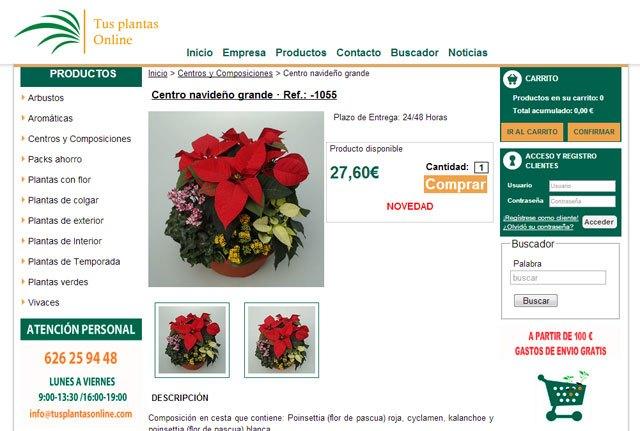 Compra tus Flores de Pascua en tusplantasonline.com - 2, Foto 2