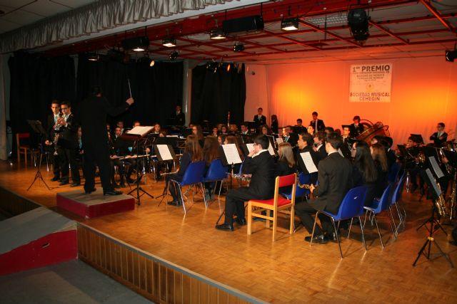 Cientos de personas celebran con la Sociedad Musical de Cehegín su reciente triunfo en Murcia - 1, Foto 1
