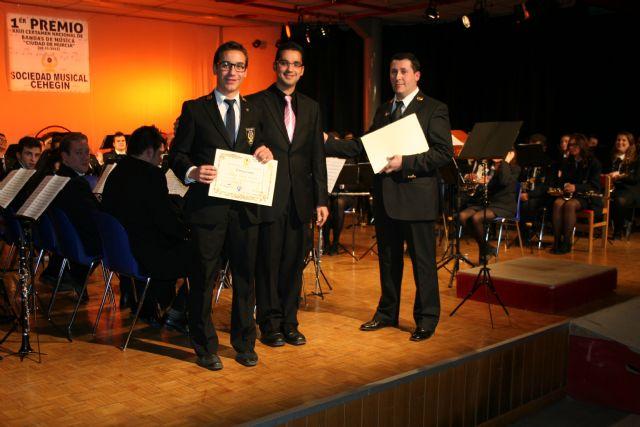 Cientos de personas celebran con la Sociedad Musical de Cehegín su reciente triunfo en Murcia - 5, Foto 5