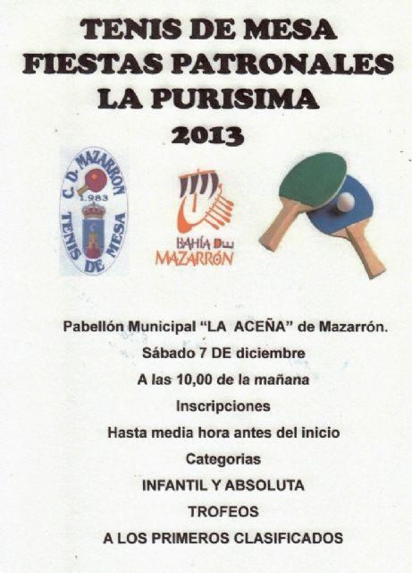 Disputa la fase municipal de tenis de mesa dentro del programa de Deporte Escolar, Foto 4