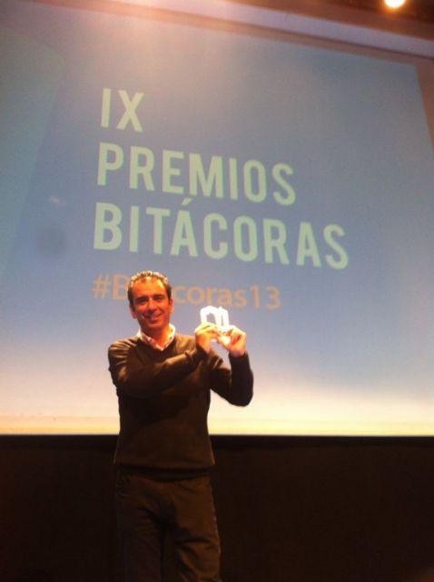 El profesor de la Universidad de Murcia López Nicolás gana un premio al mejor blog científico del año - 1, Foto 1