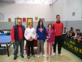 Disputa la fase municipal de tenis de mesa dentro del programa de Deporte Escolar