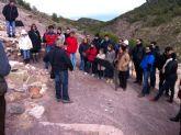 M�s de 120 personas participan en la primera visita tur�stica Descubre el yacimiento arqueol�gico de La Bastida