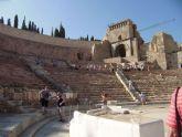 El Teatro Romano amplía su horario para recibir al público en el puente de la Constitución