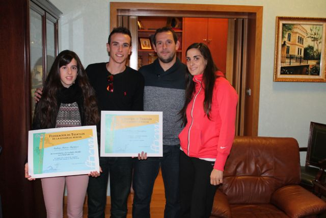 El Concejal de Deportes homenajea a los 3 últimos jóvenes archeneros que han conseguido importantes triunfos deportivos - 2, Foto 2