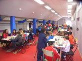 Medio centenar de escolares de los diferentes centros de enseñanza de la localidad protagonizaron la fase local de ajedrez de Deporte Escolar