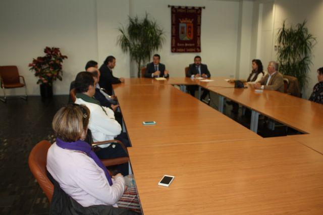 El alcalde de Torre-Pacheco recibe a la nueva junta directiva de COEC Torre-Pacheco - 1, Foto 1