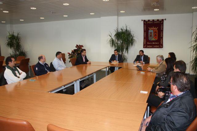 El alcalde de Torre-Pacheco recibe a la nueva junta directiva de COEC Torre-Pacheco - 2, Foto 2