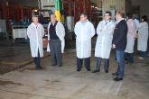 El alcalde de Torre-Pacheco visita las instalaciones de SAT San Cayetano