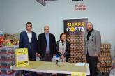 SuperCosta inicia una campaña de recogida de alimentos y otra de juguetes que entregará a Cáritas San Javier