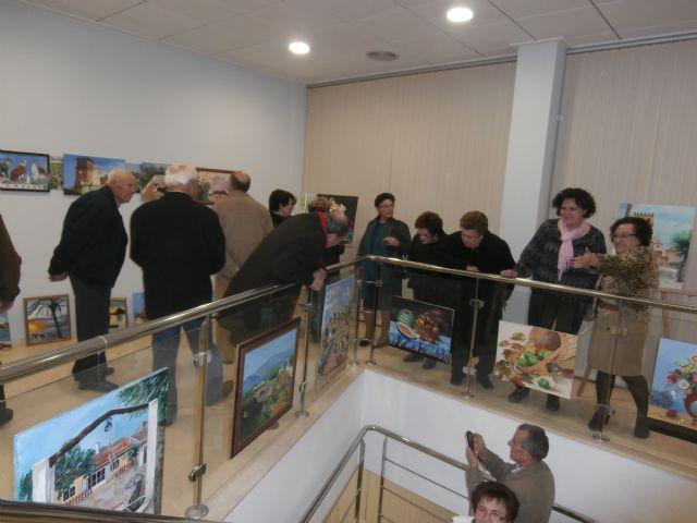 Inauguración de exposiciones de artista locales en la pedanía de La Estación- Esparragal con motivo de las Fiestas de la Purísima - 1, Foto 1